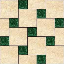 Tub, Backsplash, & Countertop Tile Layouts